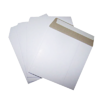 "Board Square 13"" White Record Mailer Envelope P&S 340mm x 340mm"